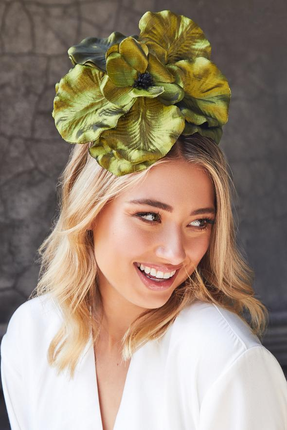 Morgan & Taylor Zayna Flower Fascinator in Various colours