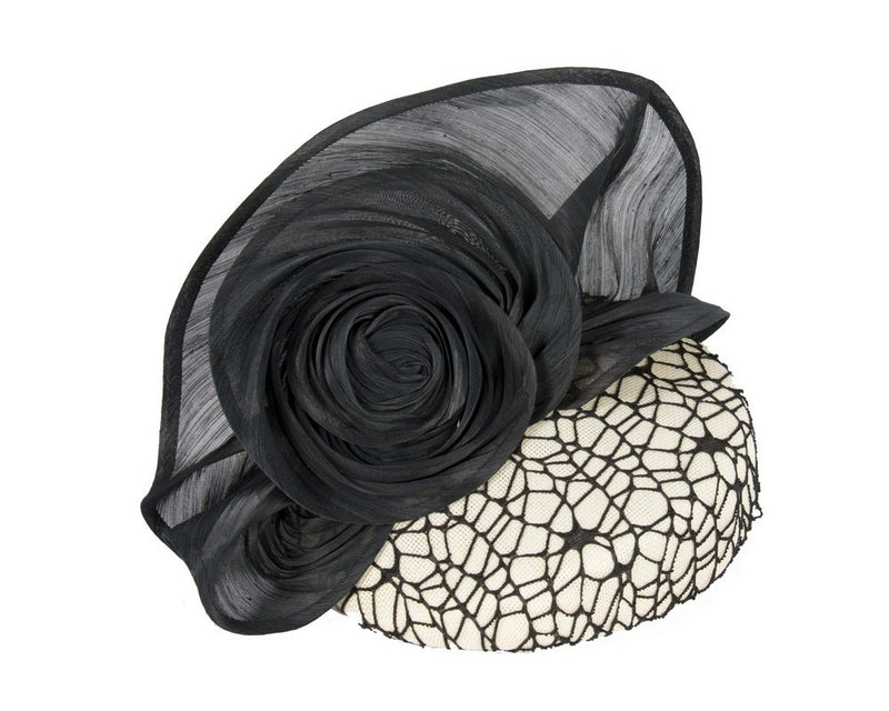 The Fillies Collection  Sloane Hat in Cream/Black