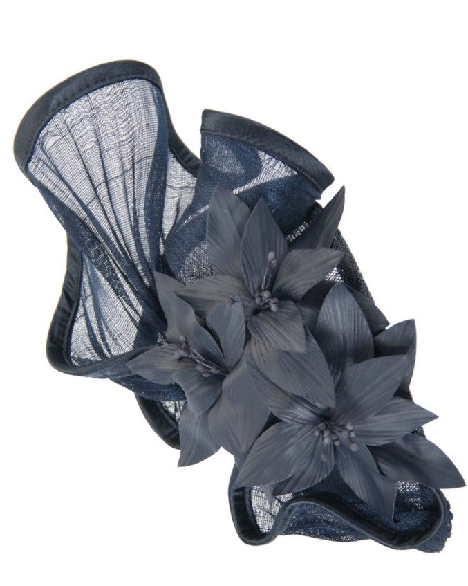 The Fillies Collection Arya Headpiece in Navy