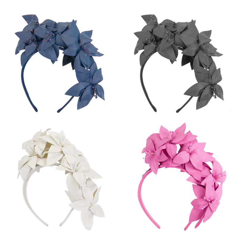 The Fillies Collection Halle Headpiece in Various Colours