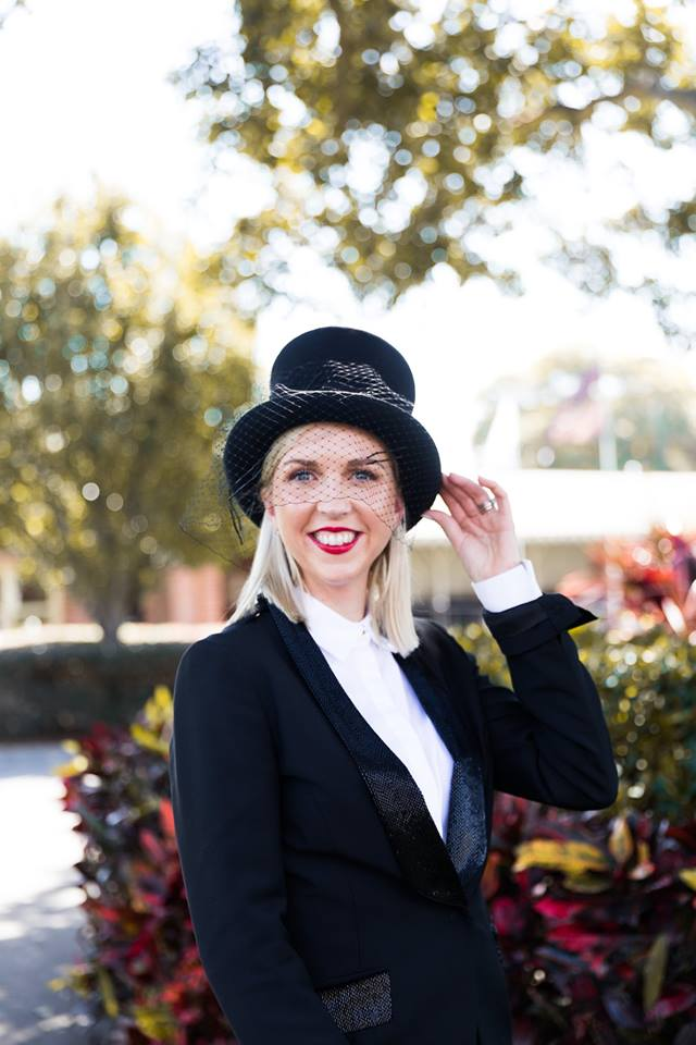 Marketplace - Genevieve Ren Millinery Top Hat in Black