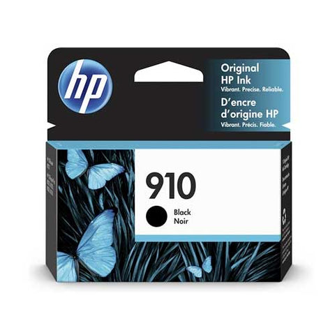 HP 910 Original Ink Cartridge - Black- Inkjet - 300 Pages - CGtechs