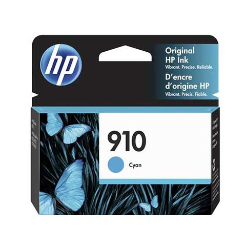 HP 910 Original Ink Cartridge - Cyan- Inkjet - 315 Pages - CGtechs