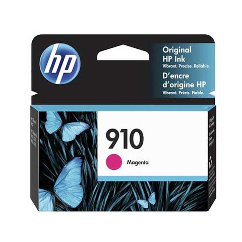 HP 910 Original Ink Cartridge - Magenta- Inkjet - 315 Pages - CGtechs