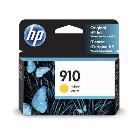HP 910 Original Ink Cartridge - Yellow- Inkjet - 315 Pages - CGtechs