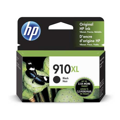 HP 910XL Original Ink Cartridge - Black- Inkjet - 825 Pages - CGtechs
