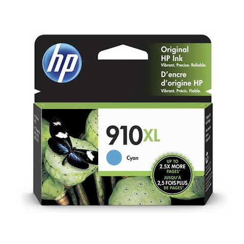 HP 910XL Original Ink Cartridge - Cyan- Inkjet - 825 Pages - CGtechs