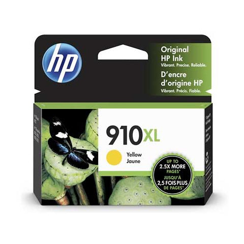 HP 910XL Original Ink Cartridge - Yellow- Inkjet - 825 Pages - CGtechs