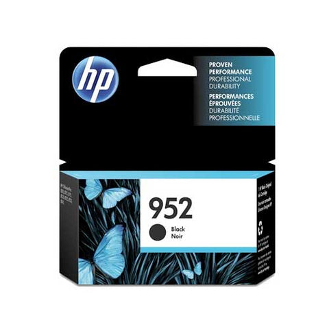 HP 952 Original Ink Cartridge - Black  - Inkjet - 1000 Pages - CGtechs