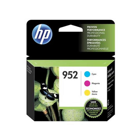 HP 952 Original Ink Cartridge - Cyan, Yellow, Magenta- Inkjet - 700 Pages (Per Cartridge) - 3 / Pack - CGtechs