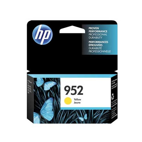 HP 952 Original Ink Cartridge - Yellow- Inkjet - 700 Pages - CGtechs