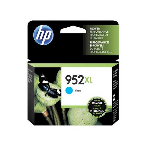 HP 952XL Original Ink Cartridge - Cyan- Inkjet - 1600 Pages - CGtechs