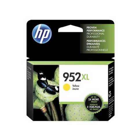 HP 952XL Original Ink Cartridge - Yellow- Inkjet - 1600 Pages - CGtechs
