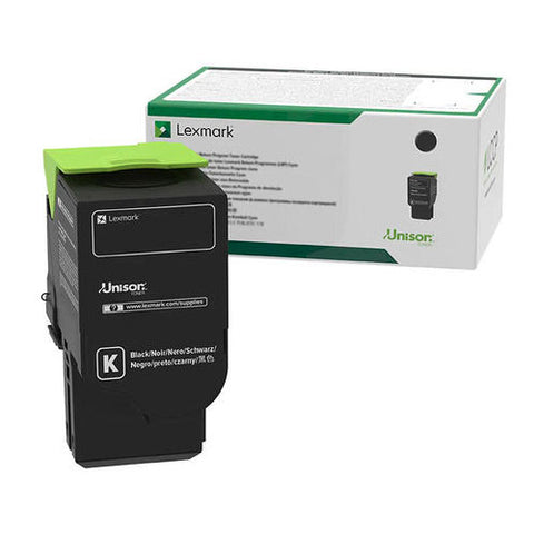 Lexmark C2310K0 Toner Cartridge - Black - 1000 Pages - CGtechs