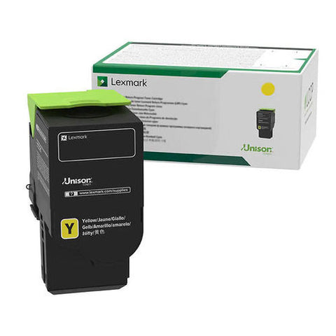 Lexmark C2310Y0 Toner Cartridge - Yellow - 1000 Pages - CGtechs