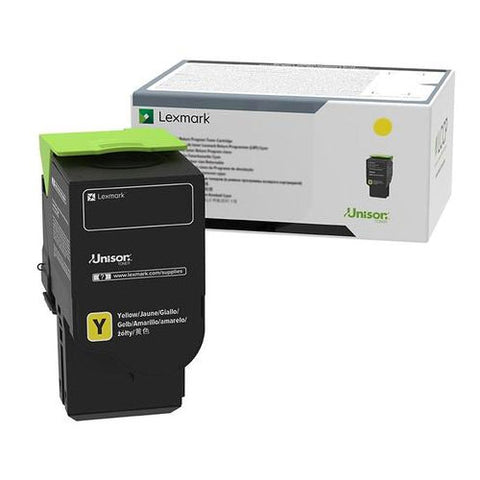 Lexmark C241XY0 Toner Cartridge - Yellow - 3500 Pages - CGtechs