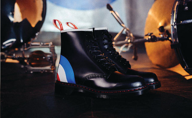 DR. MARTENS X THE WHO A COLLABORATION DECADES IN THE MAKING
