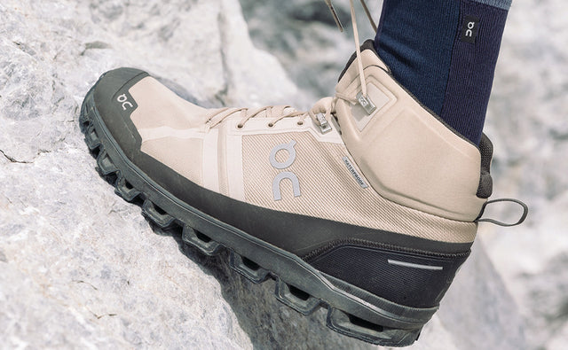 DISCOVER THE FIRST ON HIKING BOOT: THE CLOUD ROCK WATERPROOF
