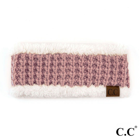 Rose Knit Head Band - Pink Julep Boutique