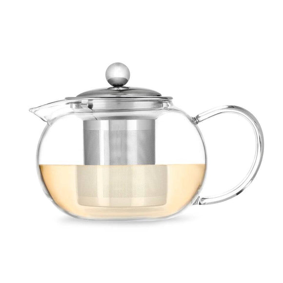 Candace Glass Teapot and Infuser - Pink Julep Boutique