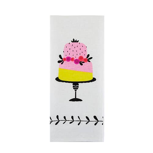 Tea Cake Tea Towel - Pink Julep Boutique