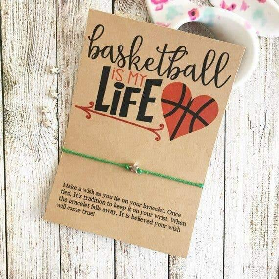 Basketball is My Life Bracelet - Pink Julep Boutique