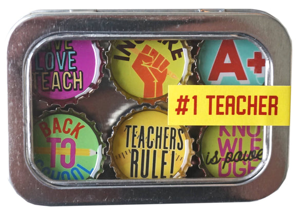 Teacher Magnet - Six Pack - Pink Julep Boutique