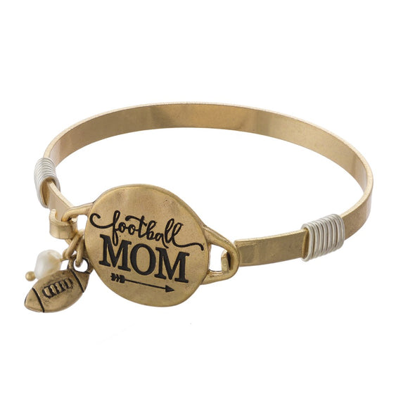 Football Mama Bracelet - Pink Julep Boutique