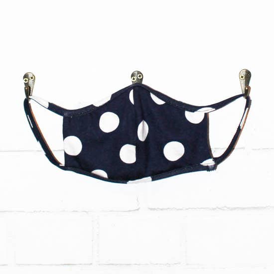 Washable Navy Face Mask - Pink Julep Boutique