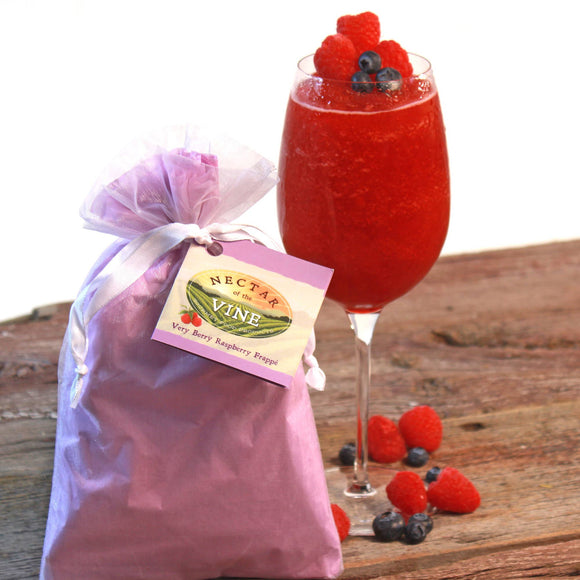 Nectar of the Vine - 5-Pack Very Berry Raspberry Wine Slushy Mix - Pink Julep Boutique