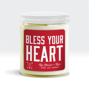 Jackson Rose - Bless Your Heart Candle - Pink Julep Boutique