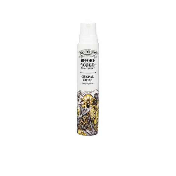 Poo-Pourri Go on the Go 10ml Spray in Original Citrus - Pink Julep Boutique