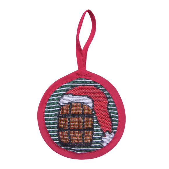 Green Stripe Bourbon Ornament