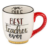 Best Teacher Ever Mug - Pink Julep Boutique