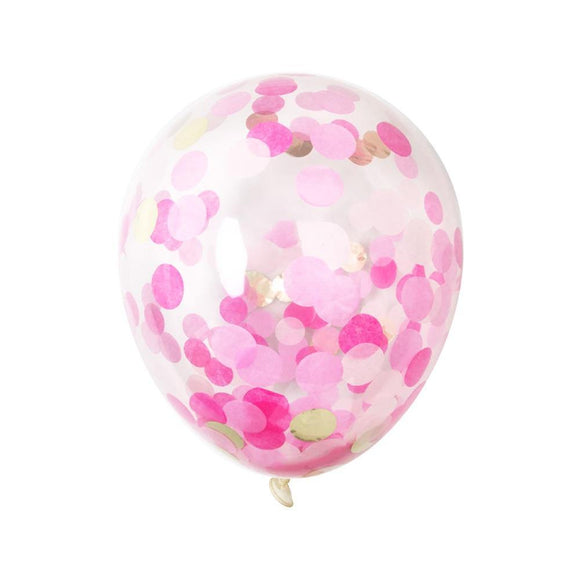 Pink Confetti Balloons - Pink Julep Boutique