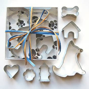 German Shepherd Six Piece Cookie Cutter Set