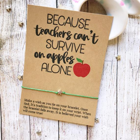Teachers Can't Survive On Apples Wishlet - Pink Julep Boutique