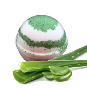 Cool Fresh Aloe Bath Bomb - Pink Julep Boutique