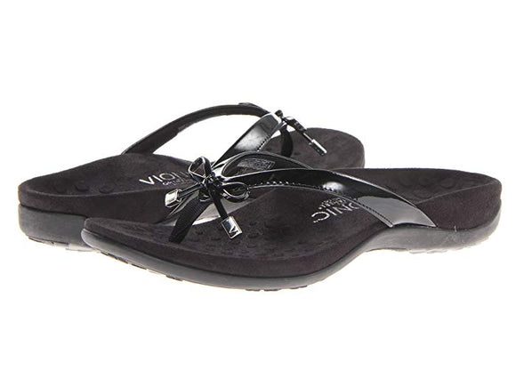 Vionic Bella II Black Sandals - Pink Julep Boutique