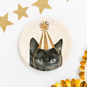 Party Animals - Cat Plates