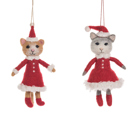 Pretty Kitty Ornament - Pink Julep Boutique