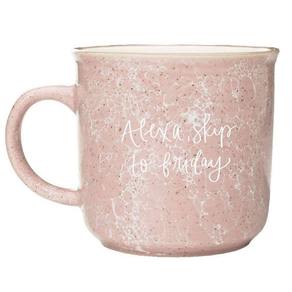 Alexa, Skip to Friday Campfire Coffee Mug - Pink Julep Boutique