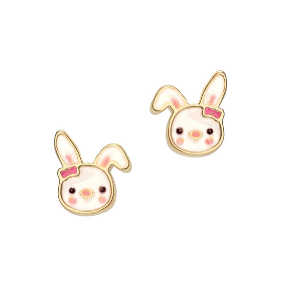 Girl Nation - Bouncy Bunny Cutie Stud - Pink Julep Boutique