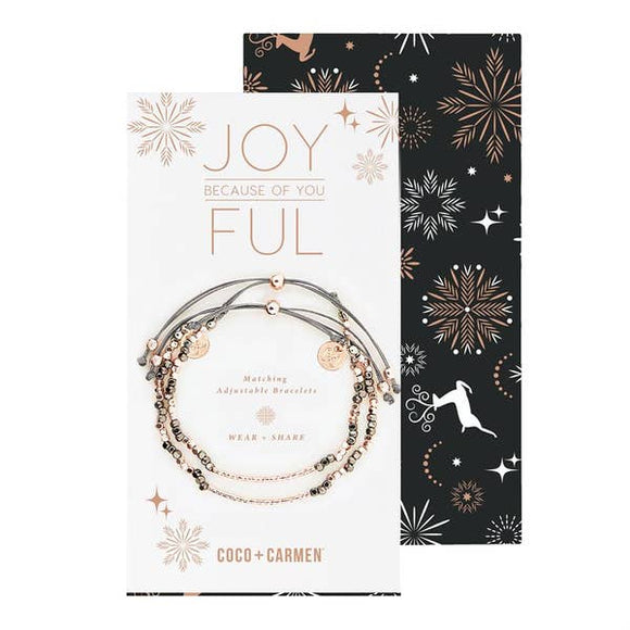 Friendship Bracelet Set - Joyful