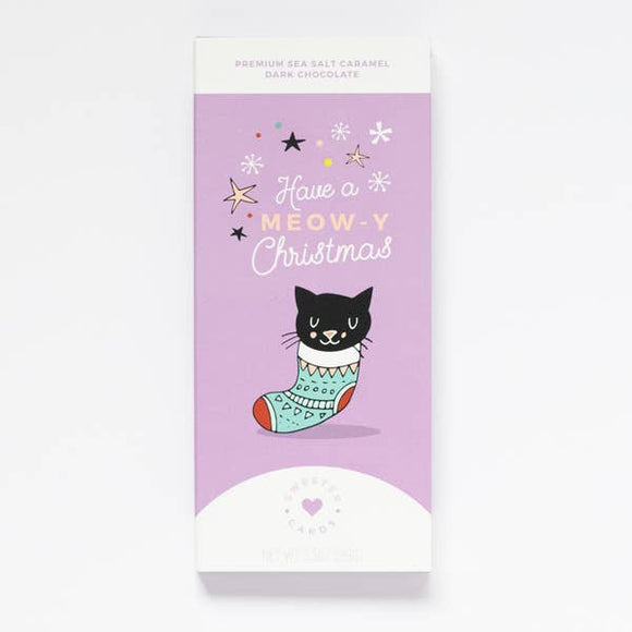 Have a Meow-y Christmas Card & Chocolate Bar