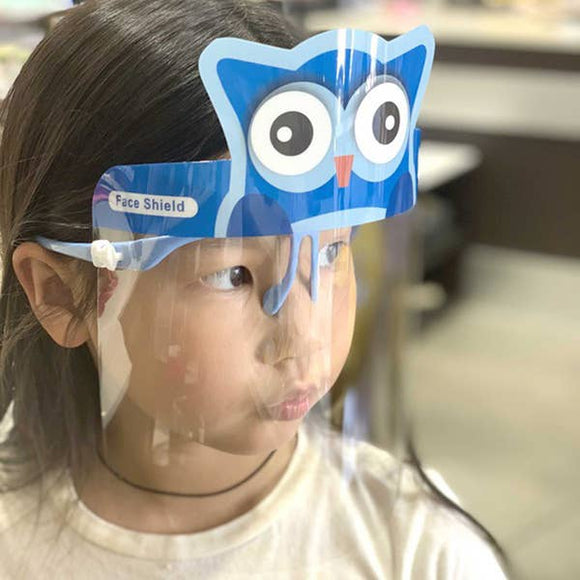 Owl Kid's Face Shield