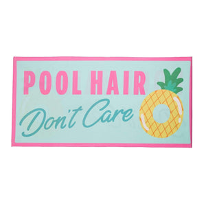 Pool Hair Don't Care Quick Dry Beach Towels