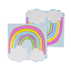 Rainbow With Cloud Cocktail Napkins