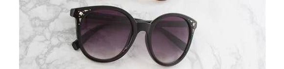Black Silver Stud Sunglasses - Pink Julep Boutique