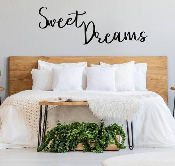 Sweet Dreams Wall Sign - Pink Julep Boutique